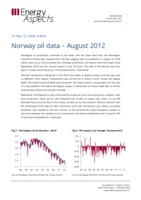 Norway oil data - August 2012 cover image