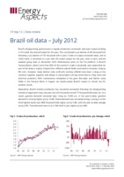 Brazil oil data - July 2012 cover image