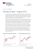 Canada oil data – July 2012 cover