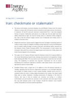 Iran: checkmate or stalemate cover image