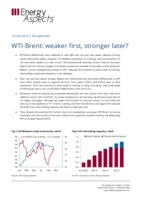 WTI-Brent: weaker first, stronger later? cover image