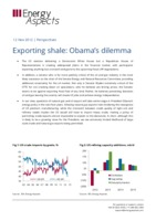 Exporting shale: Obama's dilemma cover image