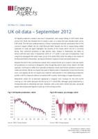 UK oil data – September 2012 cover image