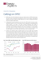 Call(ing) on OPEC cover image