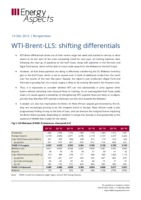 WTI-Brent-LLS: shifting differentials cover image