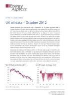 UK oil data - October 2012 cover image