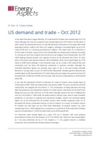 US demand and trade - Oct 2012 cover image
