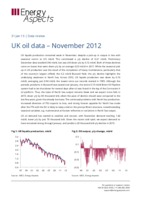 UK oil data – November 2012 cover image