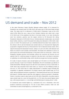 US demand and trade – Nov 2012 cover image