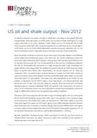US oil and shale output - Nov 2012 cover image