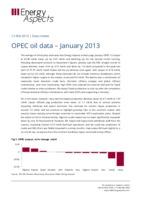 OPEC oil data – January 2013 cover image