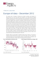 Europe oil data – December 2012 cover image