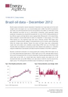 Brazil oil data – December 2012 cover image