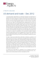US demand and trade – Dec 2012 cover image