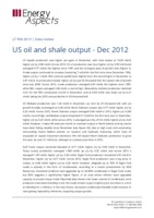 US oil and shale output - Dec 2012 cover image