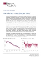 UK oil data – December 2012 cover image