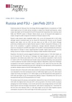 Russia and FSU – Jan/Feb 2013 cover image