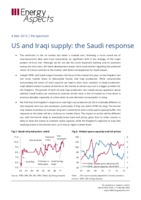 US and Iraqi supply: the Saudi response cover image