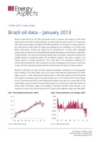 Brazil oil data – January 2013 cover image
