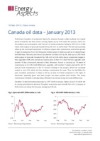 Canada oil data – January 2013 cover image