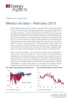 Mexico oil data – February 2013 cover image