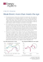 Weak Brent: more than meets the eye cover image
