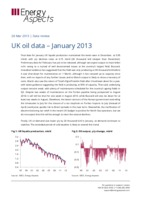 UK oil data – January 2013 cover image