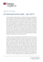 US demand and trade - Jan 2013 cover image