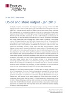 US oil and shale output - Jan 2013 cover image