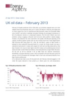 UK oil data – February 2013 cover image