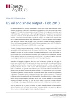 US oil and shale output - Feb 2013 cover image