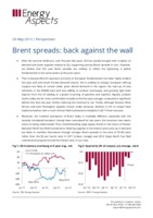 Brent spreads: back against the wall cover image