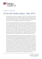 US oil and shale output - Mar 2013 cover image
