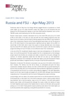 Russia and FSU – Apr/May 2013 cover image