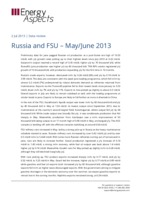 Russia and FSU – May/June 2013 cover image