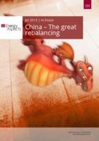 China – The great rebalancing cover image