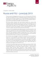 Russia and FSU – June/July 2013 cover image