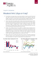Weakest link: Libya or Iraq? cover image