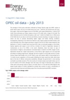 OPEC oil data – July 2013 cover image