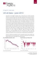 UK oil data – June 2013 cover image
