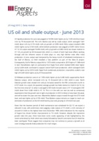 US oil and shale output - June 2013 cover image