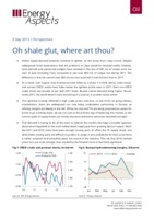 Oh shale glut, where art thou? cover image