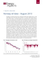 Norway oil data – August 2013 cover image