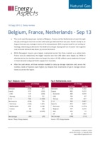 Belgium, France, Netherlands - Sep 13 cover image