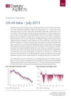 UK oil data - July 2013 cover image