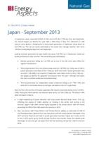 Japan - September 2013 cover image