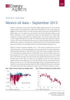 Mexico oil data - September 2013 cover image