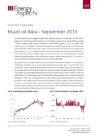 Brazil oil data – September 2013 cover image