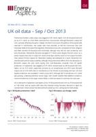 UK oil data – Sep / Oct 2013 cover image