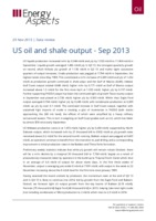 US oil and shale output - Sep 2013 cover image